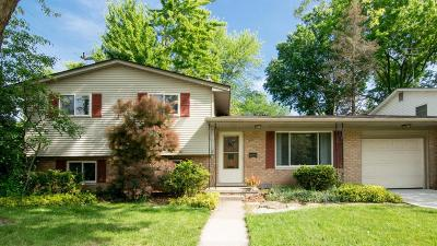 Ann Arbor Single Family Home For Sale: 2666 Sequoia Pkwy