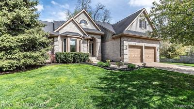 Wixom Single Family Home For Sale: 1210 Crestview Blvd
