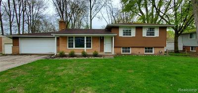 Plymouth Single Family Home For Sale: 42141 Lakeland Crt
