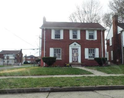 Single Family Home For Sale: 19303 Snowden