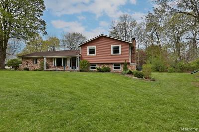 Single Family Home For Sale: 42540 E Huron River Dr