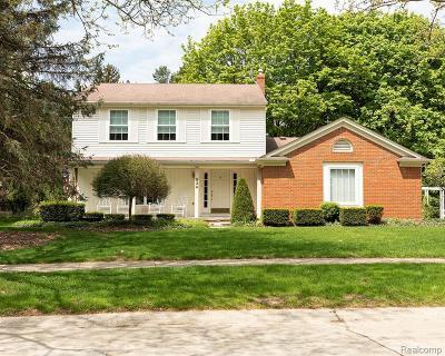 Northville Single Family Home For Sale: 534 Morgan Cir