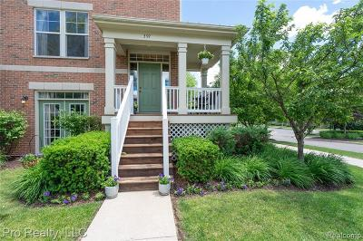 Plymouth Condo/Townhouse For Sale: 397 Windmill Dr