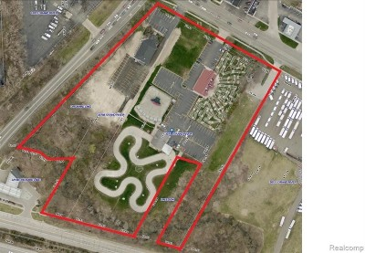 Farmington Hill Residential Lots & Land For Sale: 30755 Grand River Ave