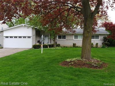 Southfield Single Family Home For Sale: 17115 Sherfield Pl