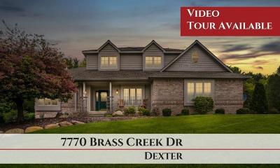 Dexter Single Family Home Contingent - Financing: 7770 Brass Creek Dr