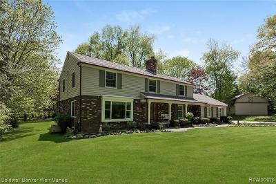 Northville Single Family Home For Sale: 47101 Maplebrook