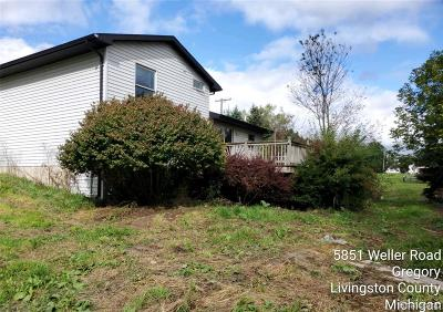 Single Family Home For Sale: 5851 Weller Rd