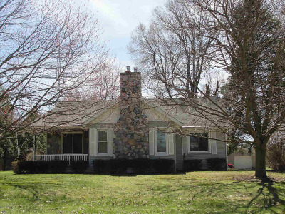 Lenawee County Single Family Home For Sale: 13517 Woerner Rd