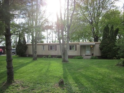 Lenawee County Single Family Home For Sale: 1256 Church