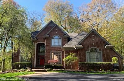 Wixom Single Family Home For Sale: 1562 Forest Bay Crt