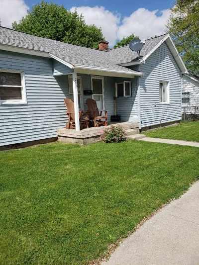 Lenawee County Single Family Home For Sale: 217 E Walnut St