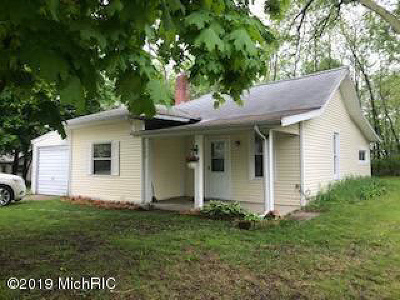 Hillsdale Single Family Home For Sale: 353 E Bacon St