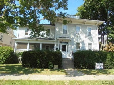 Lenawee County Multi Family Home For Sale: 215 N Broad