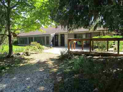 Lenawee County Single Family Home For Sale: 6423 Bent Oak Highway
