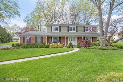 Farmington Hill Single Family Home For Sale: 30851 N Wendybrook Crt
