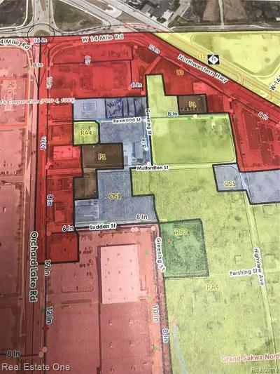 Farmington Hill Residential Lots & Land For Sale: Rexwood