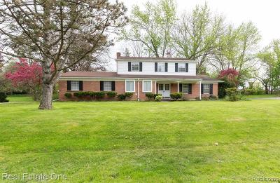 Farmington Hill Single Family Home For Sale: 38205 Southfarm Ln