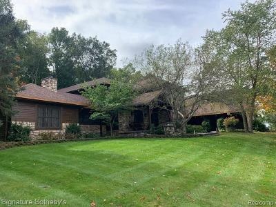 Milford Single Family Home For Sale: 3940 Rivendell Crt