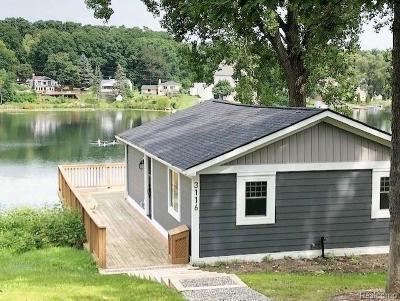 Milford Single Family Home For Sale: 3116 Hillside Dr