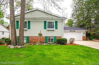 Wixom Single Family Home For Sale: 2045 Hazel Ave
