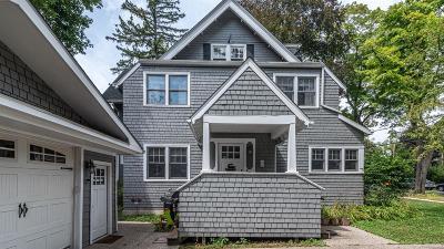 Ann Arbor Single Family Home For Sale: 605 Oswego St