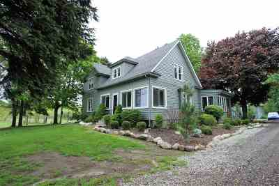 Britton MI Single Family Home For Sale: $359,900