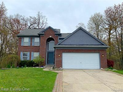 Lake Orion Single Family Home For Sale: 3293 Pin Oak Dr
