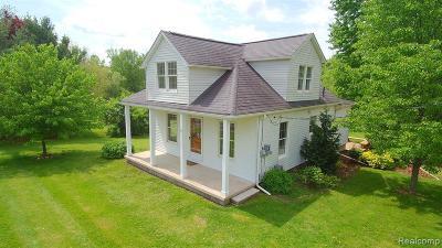 Dexter Single Family Home For Sale: 7525 Huron River Dr