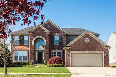 South Lyon Single Family Home For Sale: 58801 Peters Barn Dr