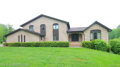 Milford Single Family Home For Sale: 2677 Beagan Crt
