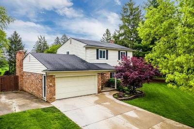 Washtenaw County Single Family Home Contingent - Financing: 507 Old Creek Ct