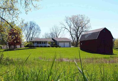 Hillsdale County Farm For Sale: 3471 W Hallett Rd