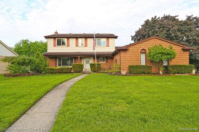 Livonia Single Family Home For Sale: 18768 Southampton St