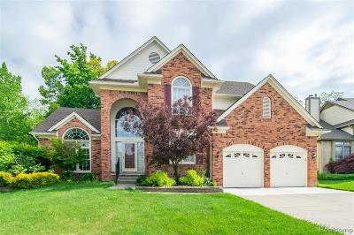 Farmington Hill Single Family Home For Sale: 28586 Golf Pointe Blvd