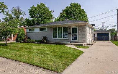 Plymouth Single Family Home For Sale: 655 Byron St