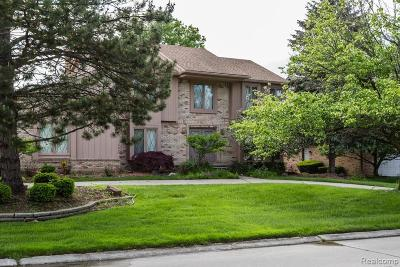 Farmington Hill Single Family Home For Sale: 37627 Dorchester