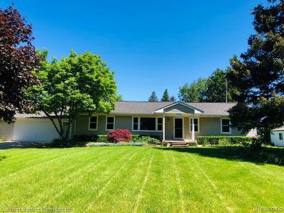 Novi Single Family Home For Sale: 44150 Stassen Ave