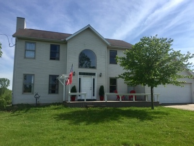 Tipton MI Single Family Home For Sale: $379,900