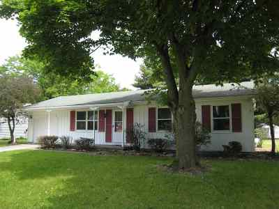 Lenawee County Single Family Home Contingent - Financing: 902 N Union