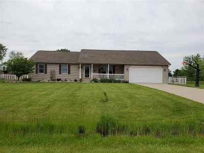 Lenawee County Single Family Home Contingent - Financing: 9074 Kings Court