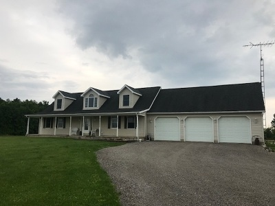 Lenawee County Single Family Home Contingent - Financing: 8475 Forestview Lane