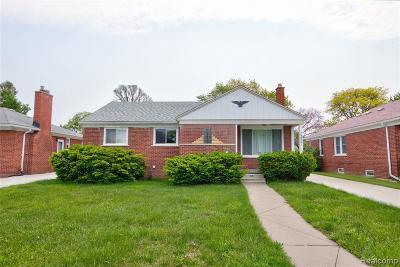 Oak Park Single Family Home For Sale: 13321 Oak Park Blvd