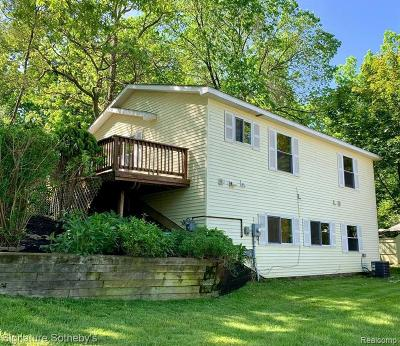 Milford Single Family Home For Sale: 240 W Canyon Dr