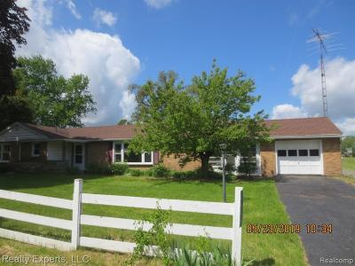 Jackson Single Family Home For Sale: 4604 Clark Lake Rd