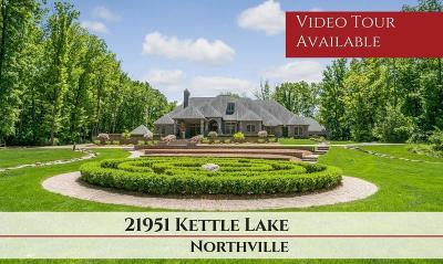 Northville Single Family Home Contingent - Financing: 21951 Kettle Lake Rd