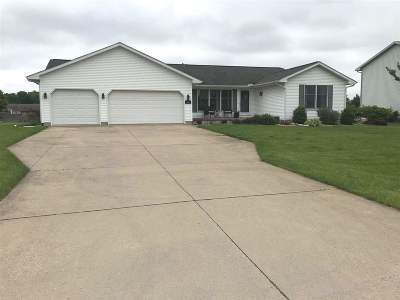 Lenawee County Single Family Home Contingent - Financing: 3563 Sapphire Dr