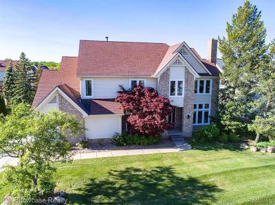 West Bloomfield Single Family Home For Sale: 5574 Silver Pond