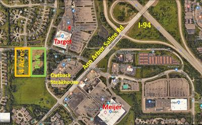 Ann Arbor Residential Lots & Land For Sale: 2105 W Waters Rd