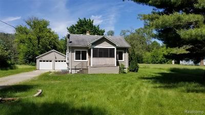 Single Family Home For Sale: 10654 Bunton Rd